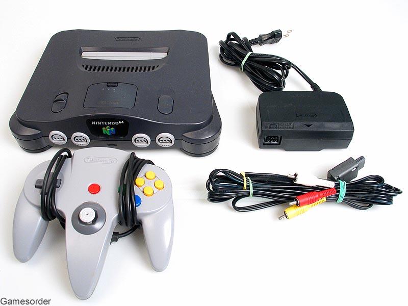 nintendo 64 konsole original controller kabel. Black Bedroom Furniture Sets. Home Design Ideas